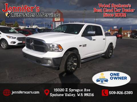 2015 RAM Ram Pickup 1500 for sale at Jennifer's Auto Sales in Spokane Valley WA