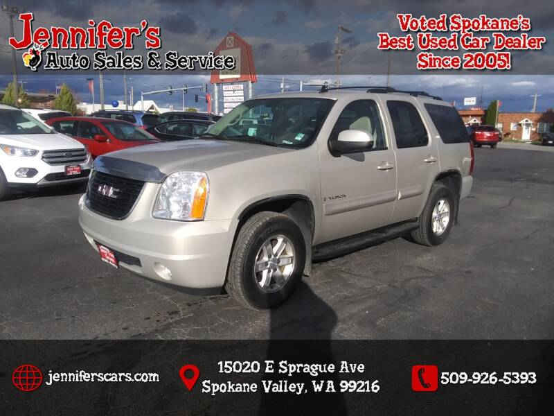 2008 GMC Yukon for sale at Jennifer's Auto Sales in Spokane Valley WA
