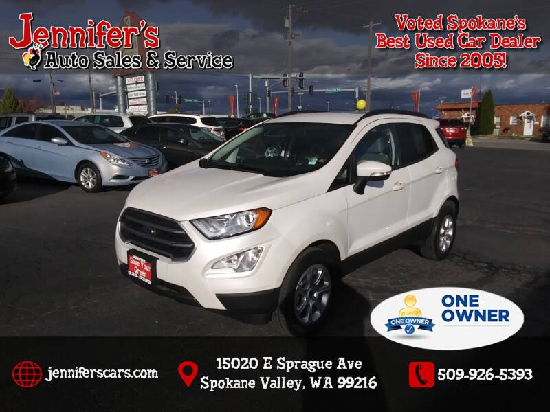 2018 Ford EcoSport for sale at Jennifer's Auto Sales in Spokane Valley WA