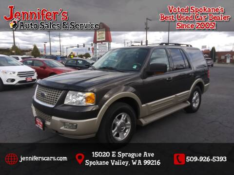 2005 Ford Expedition for sale at Jennifer's Auto Sales in Spokane Valley WA