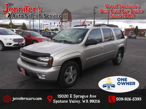 2004 Chevrolet TrailBlazer EXT for sale at Jennifer's Auto Sales in Spokane Valley WA