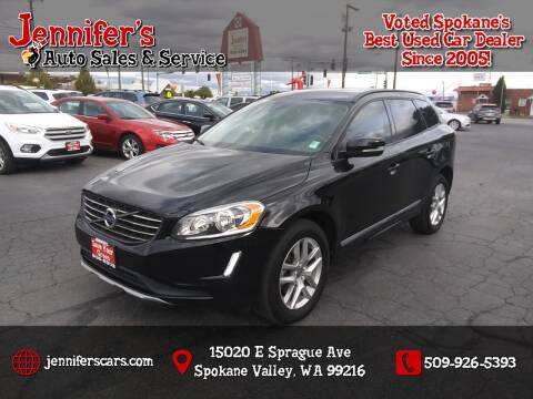 2017 Volvo XC60 for sale at Jennifer's Auto Sales in Spokane Valley WA