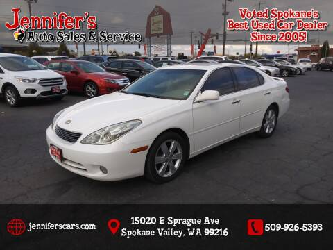 2005 Lexus ES 330 for sale at Jennifer's Auto Sales in Spokane Valley WA
