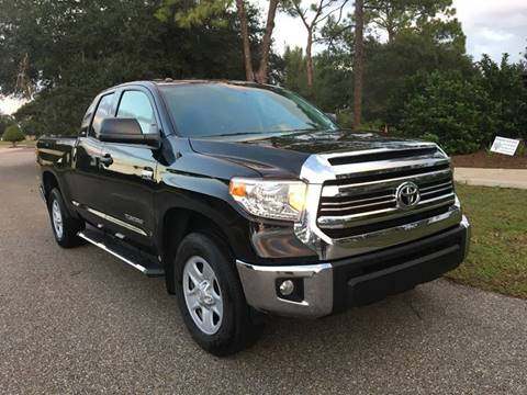 2017 Toyota Tundra For Sale At SPLASH AUTO CORPORATION In North Port FL