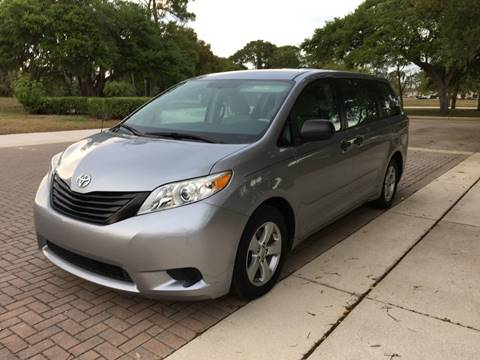 2013 Toyota Sienna For Sale At SPLASH AUTO CORPORATION In North Port FL
