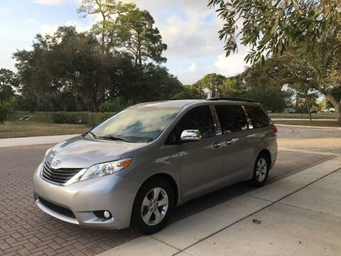 Superior 2013 Toyota Sienna For Sale At SPLASH AUTO CORPORATION In North Port FL