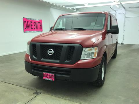 2014 Nissan NV Cargo for sale in Kellogg, ID