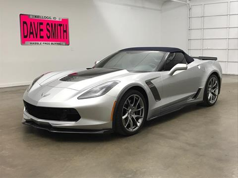Corvette For Sale >> 2016 Chevrolet Corvette For Sale In Kellogg Id