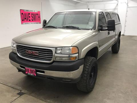 2001 GMC Sierra 2500HD for sale in Kellogg, ID