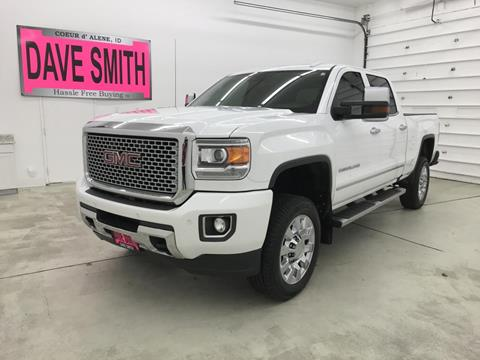 2016 GMC Sierra 2500HD for sale in Kellogg, ID