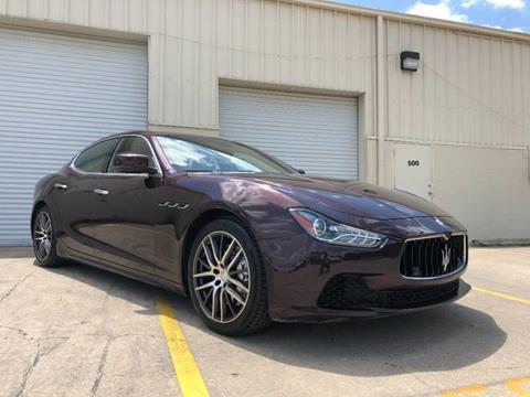 2014 Maserati Ghibli for sale in San Antonio, TX