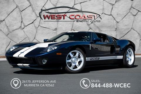 Ford Gt For Sale In Murrieta Ca