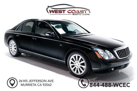 2006 Maybach 57 for sale in Murrieta, CA