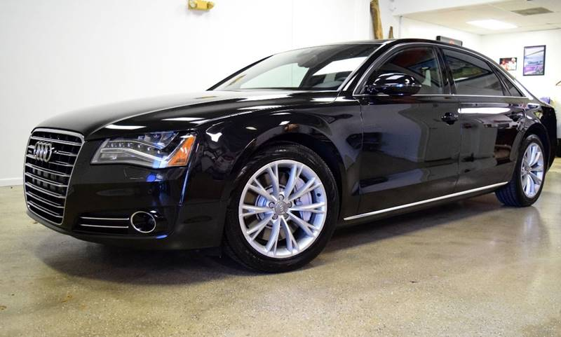 2011 Audi A8 L for sale at Thoroughbred Motors in Wellington FL