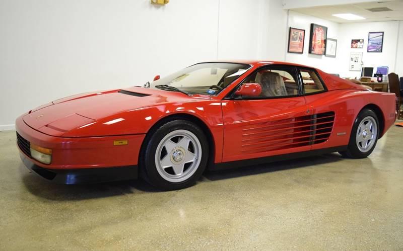 1987 Ferrari Testarossa for sale at Thoroughbred Motors in Wellington FL