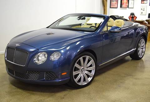 2012 Bentley Continental for sale at Thoroughbred Motors in Wellington FL