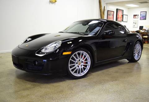 2007 Porsche Cayman for sale at Thoroughbred Motors in Wellington FL