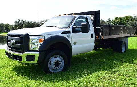 2012 Ford F-450SD SUPER DUTY for sale at Thoroughbred Motors in Wellington FL