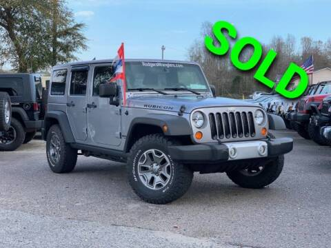 2013 Jeep Wrangler Unlimited for sale at Rodgers Wranglers in North Charleston SC
