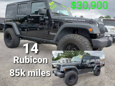 2014 Jeep Wrangler Unlimited for sale at Rodgers Wranglers in North Charleston SC