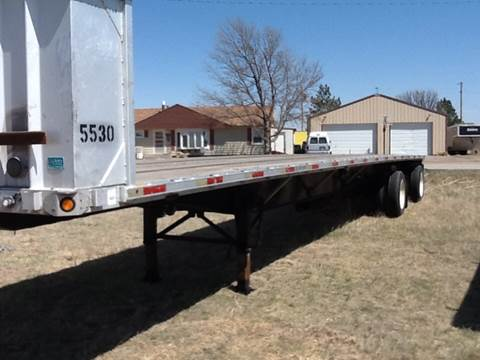2000 Utility flat for sale at TransEquip LLC in Quinter KS
