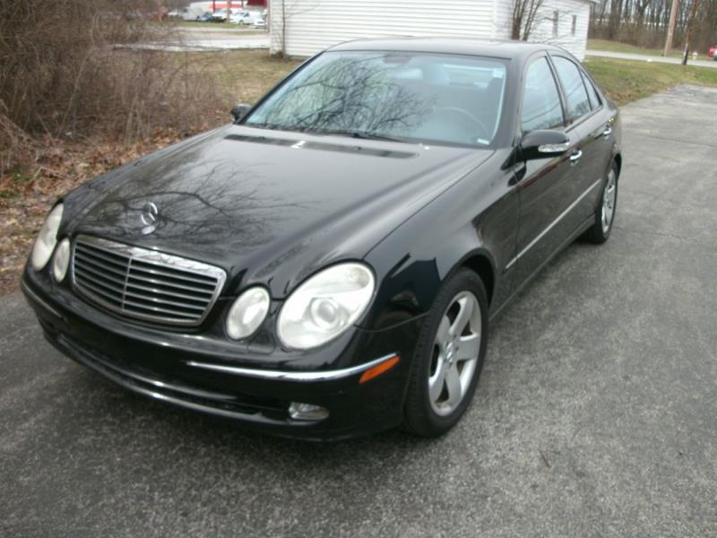 2004 Mercedes Benz E Class For Sale At Thompson Auto Diagnostics   Auto  Sales