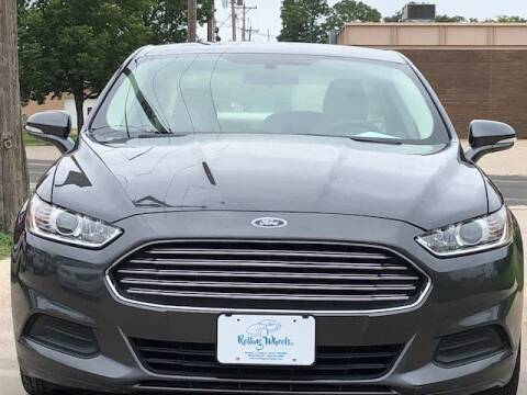 2015 Ford Fusion for sale in Hesston, KS