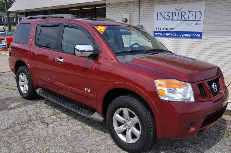 2008 Nissan Armada SE In Greer SC - Inspired Auto Group / Upstate