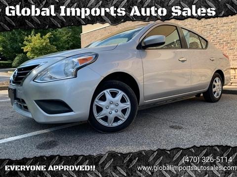 2017 Nissan Versa for sale in Buford, GA