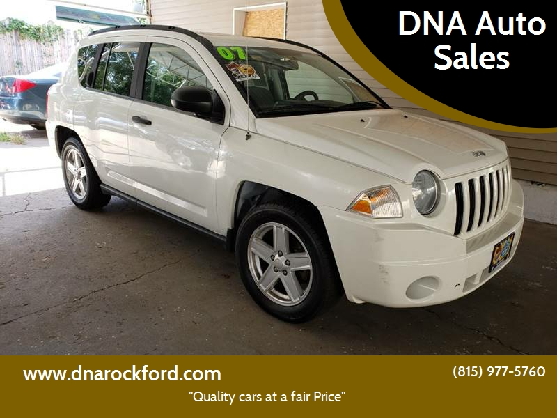 2007 Jeep Compass For Sale At DNA Auto Sales In Rockford IL