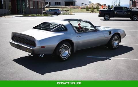 1979 Pontiac Trans Am for sale in Rancho Cordova, CA