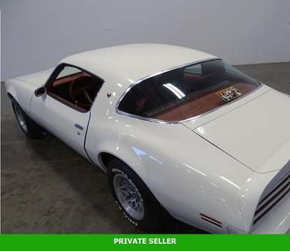 1978 Pontiac Firebird for sale in Rancho Cordova, CA