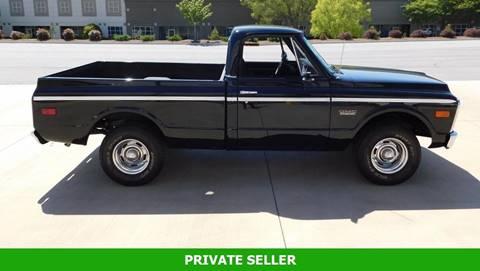 1969 GMC C/K 1500 Series for sale in Rancho Cordova, CA