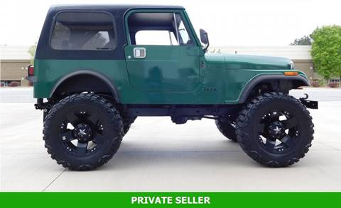 1985 Jeep CJ-5 for sale in Rancho Cordova, CA