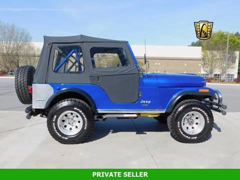 1976 Jeep CJ-5 for sale in Rancho Cordova, CA