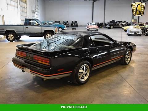 1987 Pontiac Firebird for sale in Rancho Cordova, CA