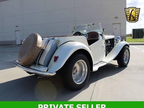 1952 MG TD for sale in Rancho Cordova, CA