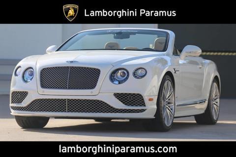 2016 Bentley Continental for sale in Paramus, NJ