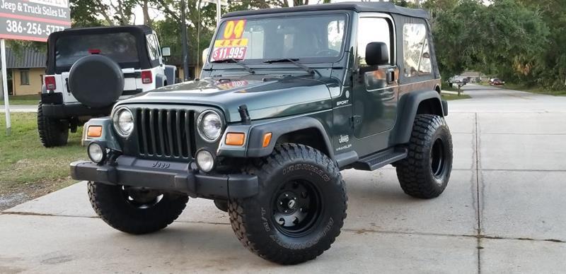 2004 Jeep Wrangler For Sale At Carmean Jeep U0026 Truck Sales LLC In Port  Orange FL