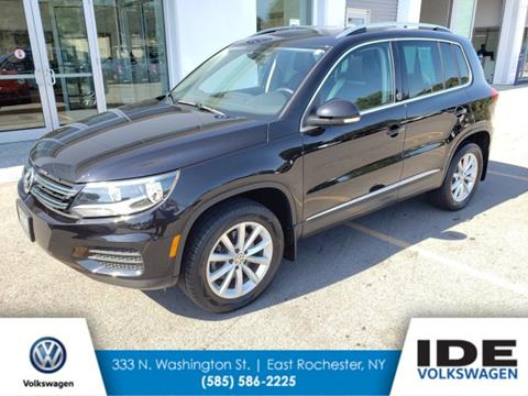 2017 Volkswagen Tiguan for sale in Rochester, NY