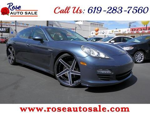 2010 Porsche Panamera for sale in San Diego, CA