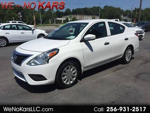 2017 Nissan Versa for sale in Arab, AL