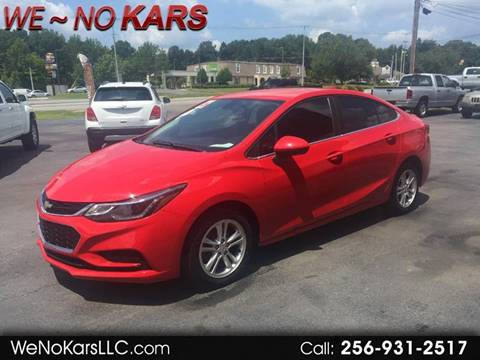 2016 Chevrolet Cruze for sale in Arab, AL