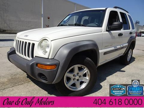 2002 Jeep Liberty for sale in Doraville, GA