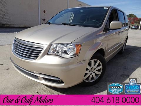 2014 Chrysler Town and Country for sale in Doraville, GA