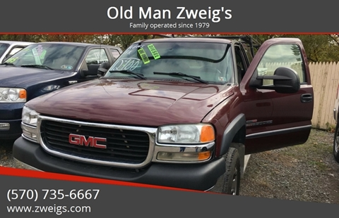 2002 GMC Sierra 2500HD for sale in Plymouth Township, PA