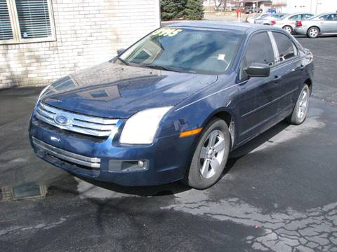 2007 Ford Fusion for sale at Straight Line Motors LLC in Fort Wayne IN