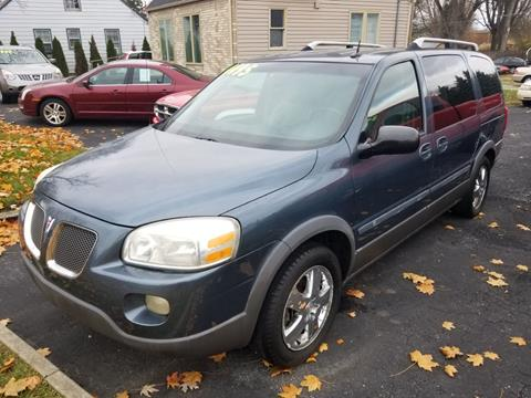 2005 Pontiac Montana SV6 for sale in Fort Wayne, IN