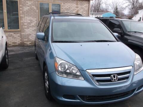 2007 Honda Odyssey EX-L for sale at Straight Line Motors LLC in Fort Wayne IN