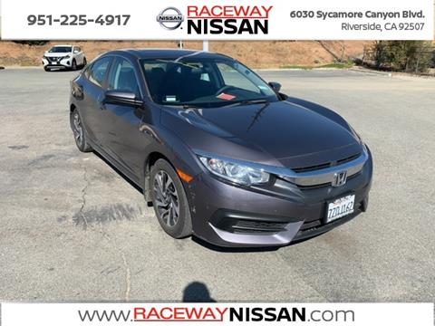 2017 Honda Civic for sale in Riverside, CA